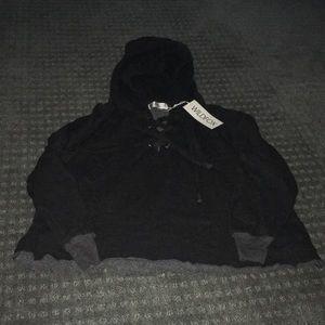 New wildfox laceup sweatshirt
